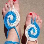 Barefoot Sandals Tourquoise..