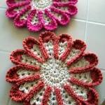 Chrysanthemum Dishcloth or ..