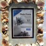 Sea Shell Art Picture Frame..